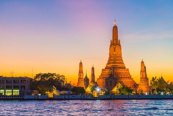 Nonthaburi skyline